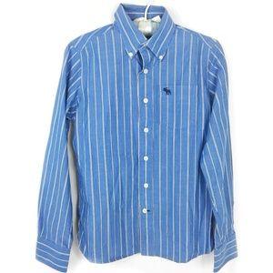 Abercrombie Kids Boy Stripped Button Up Shirt